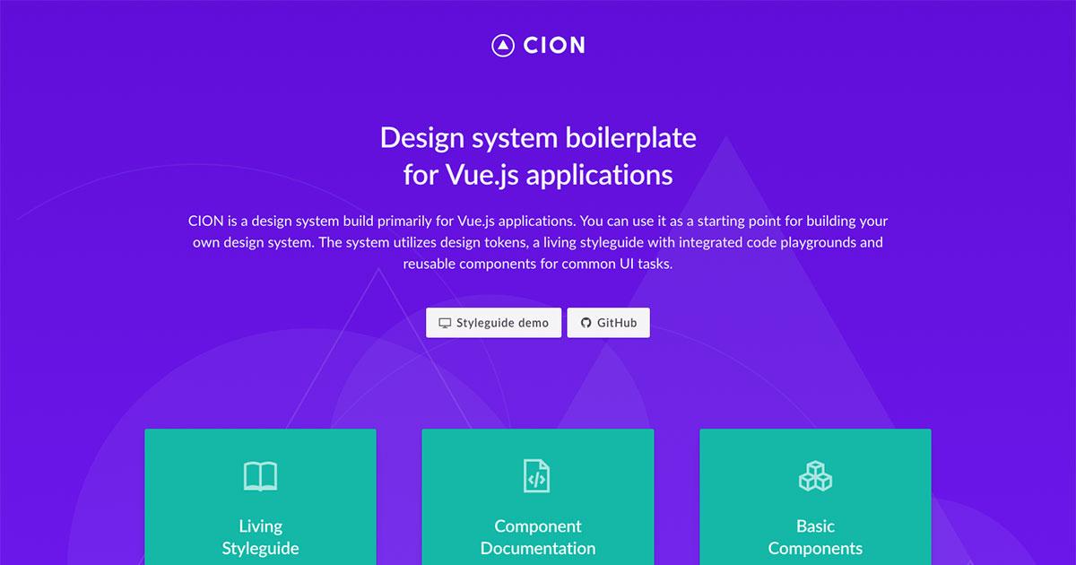Design system boilerplate for Vue.js